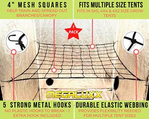 OPEN PACKAGE Single Scrog Net Trellis Net For Grow Tents-5x5/4x2 Size Tent Net