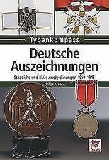 Deutsche Auszeichnungen Staatliche & zivile Auszeichnungen 1919-45 Typenkompass