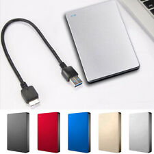 USB 3.0 500GB/1TB/2TB External Hard Drive Disk HDD 2.5'' For PC Laptop Portable