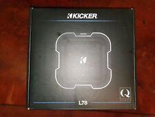 "KICKER Q Class L784 8"" 20cm 1000 Watts Dual VC Car Sub Subwoofer Square +Grille"