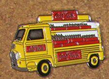 C4 PIN  COCA COLA TRUCK CAMION TIRAGE 200 RENAULT RARE