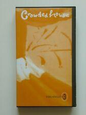 UBER RARE 1997 CROWDED HOUSE SPLIT ENZ FAN CLUB VIDEO. PAL VHS. NEIL TIM FINN