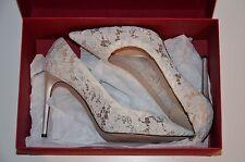 Valentino Garavani 35,5 36 Brautschuhe Spitze lace nude white bridal Pumps