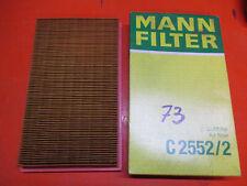 original MANN Filter,Luftfilter,C2552/2,Mazda 323 BG,626 GD,MX-5 (NA)