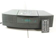 New listing Bose Wave Radio Cd Am/Fm Aux Black Awrc1G w/ Remote Cd Player Works!