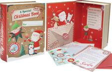 Santa Christmas Book Box With Letter To Santa Reply From Santa
