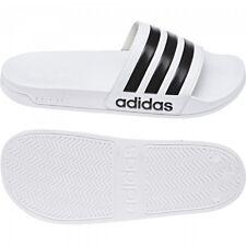 Adidas CF Adilette Herren Damen Badepantolette Badeschuhe Badeslipper Wei�Ÿ Neu
