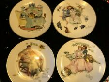 Norman Rockwell 1973 Four Seasons Limited in Edition Collector Plates