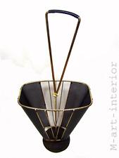 Mid-Century Schirmständer Mathieu Matégot Style Brass Umbrella Stand 1950´s