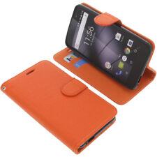 Tasche für Gigaset GS160 / GS170 Book-Style Schutzhülle Handytasche Buch Orange