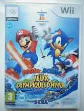 Mario & Sonic Aux jeux Olympiques D'hiver Jeu Vidéo Wii