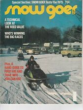 FEB/MARCH 1973 SNOW GOER snowmobile magazine