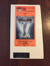 Richard Petty Hooters 500 Commemorative Ticket Limited Edition Numbered