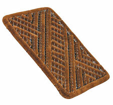 Galvanised Steel Outdoor Patio Entrance Door Boot Shoe Scraper Mesh Coir Mat JVL