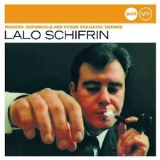 Lalo Schifrin Mission: Impossible & Other Thrilling Themes CD NEW Jazz Remaster