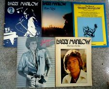 5 Barry Manilow Music books