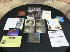 Riven: The Sequel to Myst Cyan Big Box Game CD ROM PC Game EUC