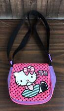 Hello Kitty Purse Little Girls Toy Purple & Pink Flap Straps