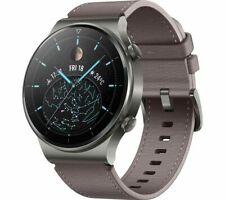 HUAWEI Smart Watch GT 2 Pro Leather Nebula Gray 46mm Water Resistant - Currys