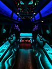Ford E450 Party Limousine bus, diesel, ice cold 40* AC, ready to work!!