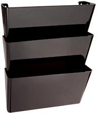 Wall Mount 3 Pocket Hanging File Sorter Organizer Folder Holder Rack Storage New