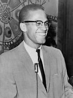 Photography Portrait Political Activist Civil Rights Malcolm X Canvas Art Print