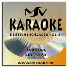Karaoke DVD CDG CD+G - Deutsche Schlager Superhits Vol.6 - Neuware