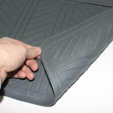 Car Floor Mats Set - Rubber Universal Gray All-Weather Interior