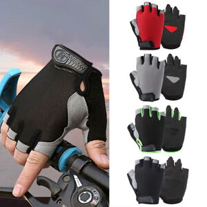 Tactic Outdoor Bicycle Gloves Anti-slip Breathable Protective Half Finger Glo CA
