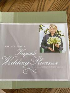 Martha Stewart's Keepsake Wedding Planner by Martha Stewart Living Magazine...
