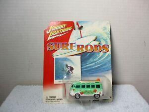 JOHNNY LIGHTNING SURF RODS 1966 VOLKSWAGEN VW SAMBA BUS / VAN