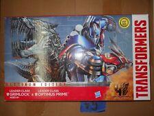 V5_4 Transformers Lot OPTIMUS PRIME VS GRIMLOCK LEADER CLASS PLATINUM EDITION #2