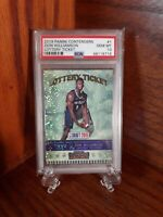 2019 Panini Contenders Lottery Ticket Zion Williamson ROOKIE RC PSA 10 GEM MINT