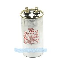 1Pc CBB65A-1 AC 450V 30uF Washer Air Conditioner Cylindrical Running Capacitor