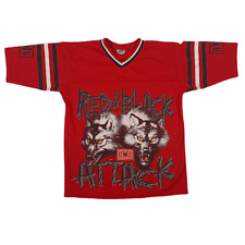 """Vintage Nwo """"Red And Black� Jersey Retro Wwe Wrestling Wwf Sports Apparel Tee"""