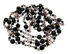 Necklaces For Women Black Beaded Necklaces Long Beaded Necklaces