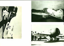 "LOT OF 3: GEE BEE - 4"" X 6"" BLACK & WHITE ASSORTED AIRPLANE PRINTS"