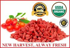 USDA ORGANIC GOJI BERRIES WOLFBERRY BERRY GRADE AAAA+++ FROM NINGXIA,16OZ-10 LB
