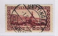 """SARRE / SAAR / SAARGEBIET - Yv.113 / Mi.114 used """" BETTINGEN / (KR.SAARLOUIS) """""""