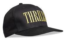 WeSC Mens Thrills Black Twill Snapback Hat Ball Cap One Size Gold NWT