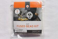 Crafts for Kids Fused Bead Kit Halloween Skull Bead Kits Kid's Crafts New