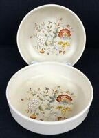 "Lenox TemperWare Merriment 16 Oz  Soup Cereal Bowls 6"" Set Of 2 Made In USA"