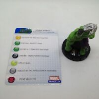Heroclix Incredible Hulk set Hulk Robot #006 Common figure w/card!