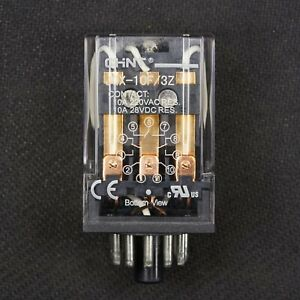 NEW 11 Pin Octal Base 24V AC Relay 3PDT General Purpose Plug In Ice Cube 10A