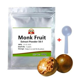 Monk Fruit Extract Powder 50:1,Siraitia Grosvenorii,Luo Han Guo,Sugar Substitute
