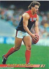 1994 Select Base Card [ 126 ] Allen JAKOVICH Melbourne