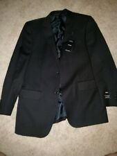 NWT Men's Angelo Rossi Hand Tailored Black Jacket Size 40R Giorgio Cosani