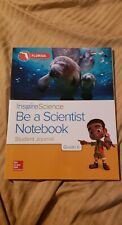 Inspire Science Be A Scientist Notebook Journal Grade k Homeschool Workbook FL