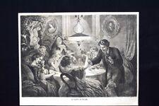 Il fante di picche Incisione del 1871