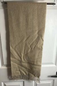 "New W/ Tags Vintage Neiman Marcus 100% Cashmere Scarf  53""x12"" Rare"